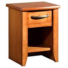 Chevet 1 tiroir Mathilda merisier