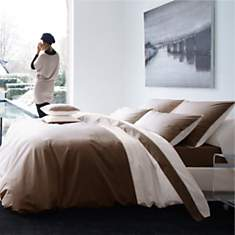 Taie percale Memory 3 BLANC DES VOSGES