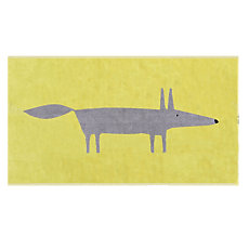 Tapis de bain Mr Fox Citron SCIO...