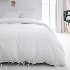 Parure de lit à nouettes Nöd Bla...