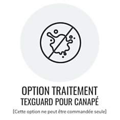 Option traitement Texguard pour canapé
