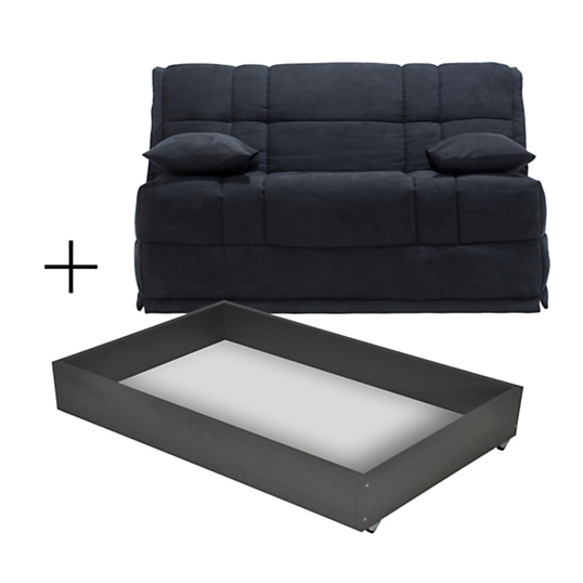 banquette bz viper avec tiroir matelas bultex 12 cm. Black Bedroom Furniture Sets. Home Design Ideas