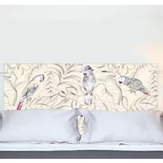 Tête de lit Perroquets MADEMOISELLE TISS...
