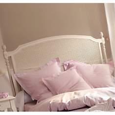 Tête de lit cannée Romance blanc