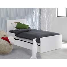Lit Stan + tiroir lit gigogne blanc 90 x...
