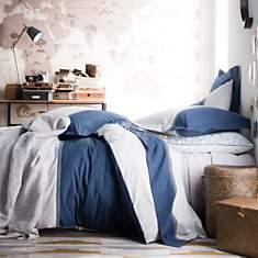 Parure de lit percale Toi et Moi Zahara ...