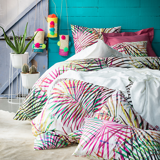Housse De Couette Percale Tropic Bensimon By Essix Home