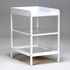 Table à langer Ludo laquée blanc