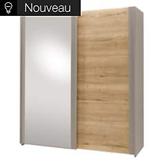 Armoire Maël&Mathis 1 Porte Glace 1 ...