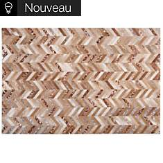 Tapis Wild TOULEMONDE BOCHART,  Chamois