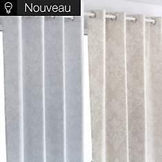 Lot de 2 rideaux Gisèle
