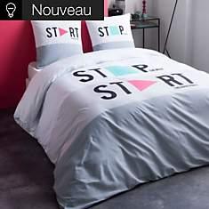 Parure de lit Stop Start
