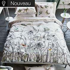 Parure de lit satin Papillions Birch  DE...