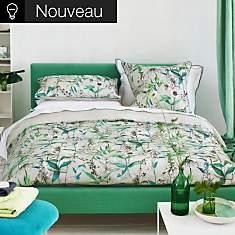 Parure de lit percale Emilie Emerald  DE...