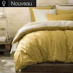 Parure de lit percale Occitan ESSIX,  Oc...