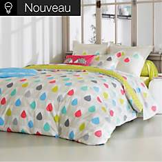 Drap percale Sula SCION LIVING, Citron