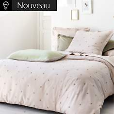 Taie d'oreiller percale Ode d'Automne  N...