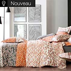Drap Variations BLANC DES VOSGES, Orange