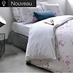 Drap housse percale Arty JULIE LAVARIERE