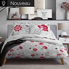 Parure de lit zippée Rosa MAWIRA