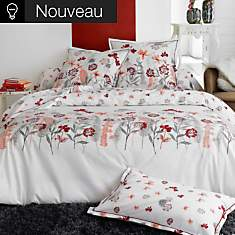 Taie percale Petite Folie rouge TRADILIN...