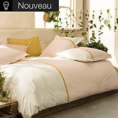 Parure de lit percale Toi et Moi Occitan...