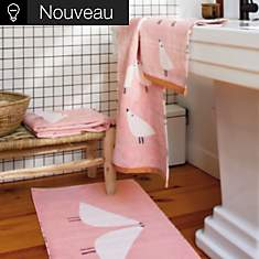 Tapis de bain Lintu SCION LIVING, blush