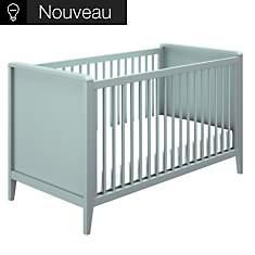Lit bébé Gabrielle bleu
