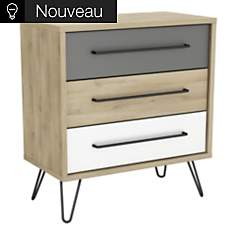 Commode 3 tiroirs Dolce