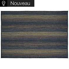 Tapis Natté TOULEMONDE BOCHART,  Brun/Or...