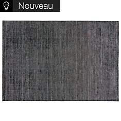 Tapis Stone TOULEMONDE BOCHART, noir
