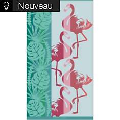 Drap de plage Flamingo GARNIER THIEBAUT