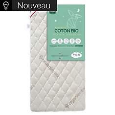 Matelas bébé Coton Bio P'TIT LIT, 12 cm...