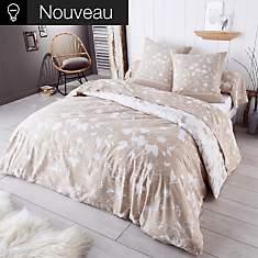 Parure de lit flanelle Colette  TRADILIN...