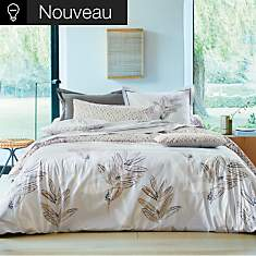 Parure de lit percale Saint Rémy Chanvre...