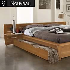 Lot de 2 tiroirs pour lit Théo
