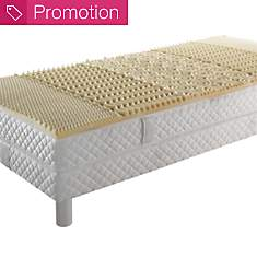 Surmatelas mousse visco 5 zones de  conf...