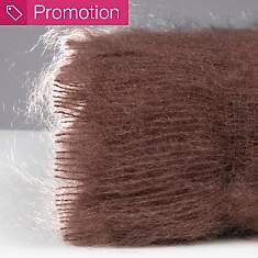 Couverture mohair Courchevel OURSON