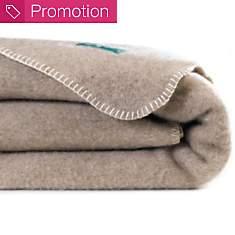 Couverture laine sans teinture Aubrac  O...