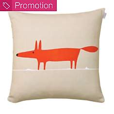 Coussin Mr Fox SCION LIVING, mandarine