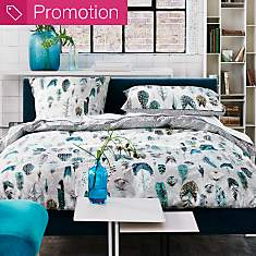 Taie percale Quill Duck Egg DESIGNERS  G...