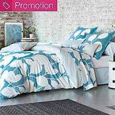 Housse de couette percale Steppes SCION ...