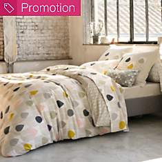 Taie percale Sula Blush SCION LIVING