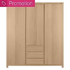 Armoire Alan 3 portes 3 tiroirs