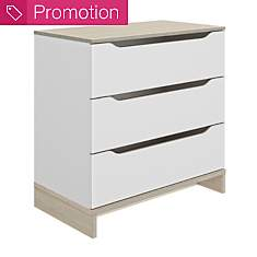 Commode 3 tiroirs Gustave