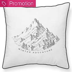 Coussin Winter Adventure