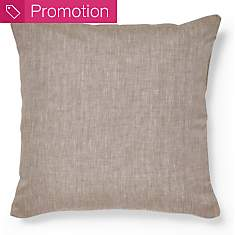 Housse de coussin Chambray Lin Catherine...