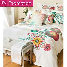 Parure de lit percale Essential Living  ...