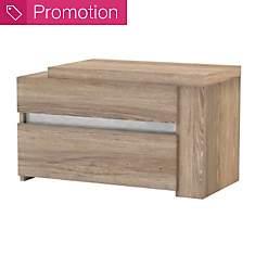 Chevet 2 tiroirs Aaron