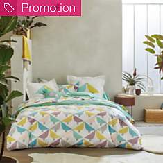 Drap percale Lintu SCION LIVING, aqua